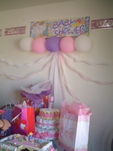 Babyshower decolation